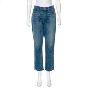 Denim - Crippen Straight Leg Blue Jeans